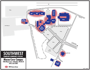 Macon Cove Campus Wireless Map